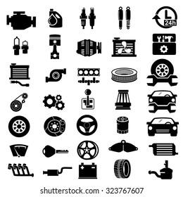 Car Parts Icon Images Stock Photos Vectors Shutterstock