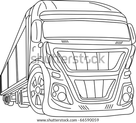 Vector Car Tuning Isolated On Background Stock Vector Royalty Free