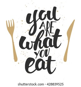 Healthy Eating Quotes Stock Vectors, Images & Vector Art ...