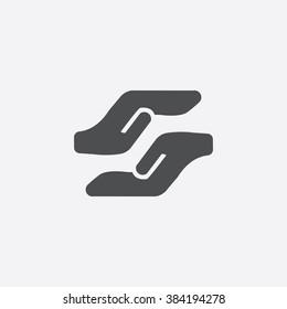 Vector care Icon