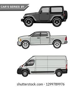 vector cars series