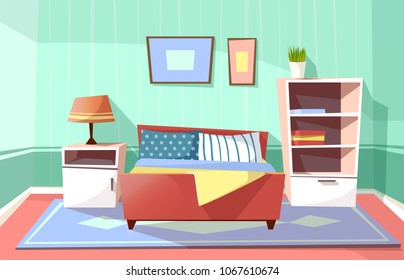 Cartoon Bedroom Images Stock Photos Vectors Shutterstock