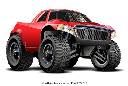 Vector Cartoon Buggy (one-click repaint)