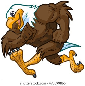 eagle mascot images stock photos vectors shutterstock rh shutterstock com Eagle Mascot Logo eagle football mascot clipart