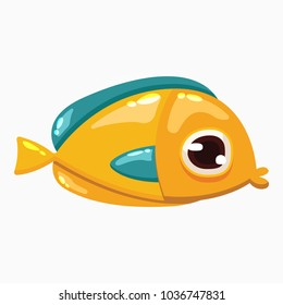 Vector Cartoon fish Clip Art which is ideal for creating your wallpapers, backgrounds, stickers, fabric patterns, clothing prints, labels, crafts & any other projects