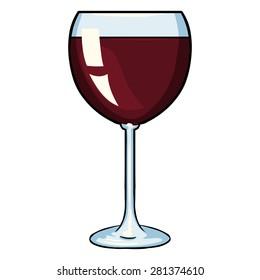 cartoon wine glass images stock photos vectors shutterstock rh shutterstock com cartoon wine glass and bottle cartoon wine glass pictures