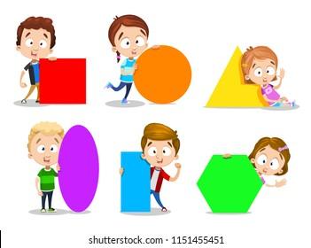Geometry Kid Images, Stock Photos & Vectors | Shutterstock