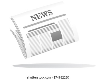 Cartoon Newspaper Images, Stock Photos & Vectors | Shutterstock