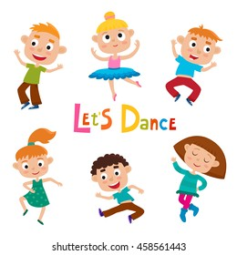 Kids Ballet Dance Cartoon Images Stock Photos Vectors Shutterstock
