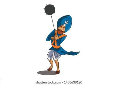 Punjabi Cartoons Images, Stock Photos & Vectors | Shutterstock