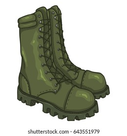 Army Shoes Images, Stock Photos