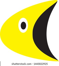 Vector Cartoon Pacman Image Icon
