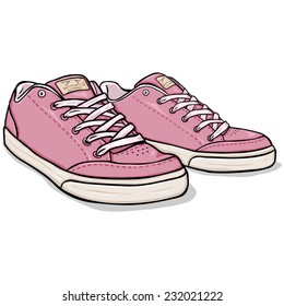 cartoon shoes images stock photos vectors shutterstock