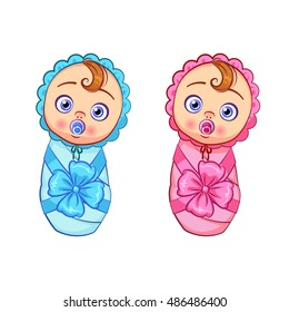Cartoon Twin Baby Boys Images Stock Photos Vectors Shutterstock