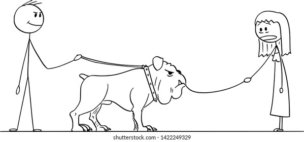 Dog With Lead In Mouth Images Stock Photos Vectors