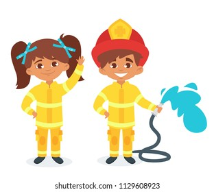 cartoon Firefighter girls sex