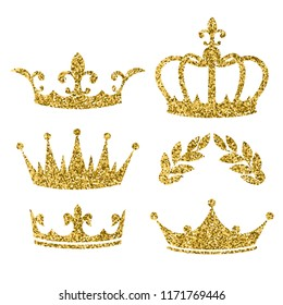 Glitter Crown Images Stock Photos Vectors Shutterstock Download this cartoon gold crown, crown clipart, cartoon, halo png clipart image with transparent background or psd file for free. https www shutterstock com image vector vector cartoon style set royal crowns 1171769446