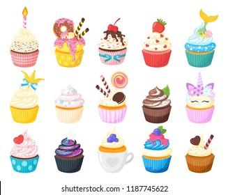 Images Photos Et Images Vectorielles De Stock De Cupcake
