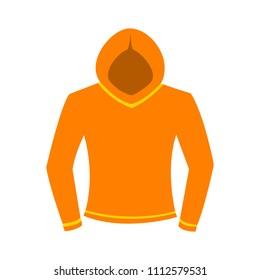 vector casual jacket template, design fashion illustration - shirt symbol