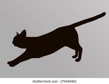 Vector Cat silhouette