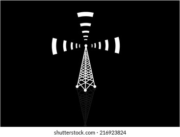 Vector Cell Tower