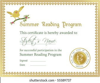 Vector: Certificate of Completion Template (a jpg version is also available)