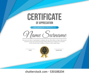 Blank Certificate Template | Blank Certificate Images Stock Photos Vectors Shutterstock