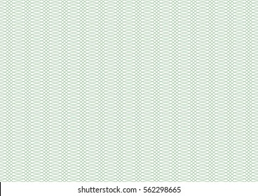 Vector certificate texture. Seamless geometric pattern.