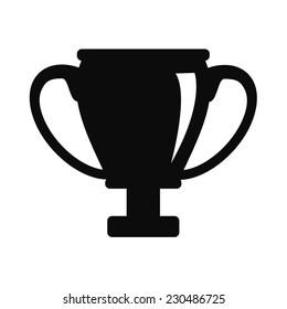 Vector Champions Cup Black Icon