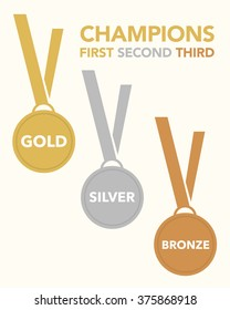 Vector Championship Medal Set