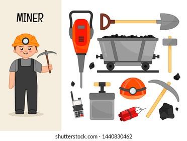 Miner Cartoon Images, Stock Photos & Vectors | Shutterstock