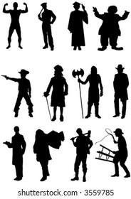 vector character set
