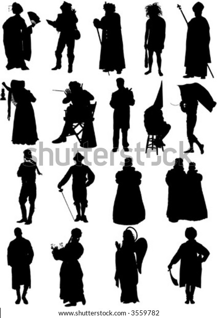 Vector Character Set Stock Vector (Royalty Free) 3559782