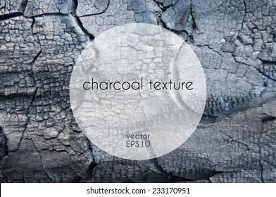 Vector charcoal texture