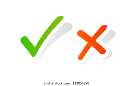 Vector check mark graphic