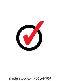Vector Check Mark Symbol