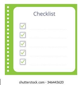 photograph relating to Blank Checklist named Imágenes, fotos de inventory y vectores sobre Listing+blank