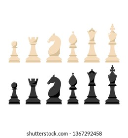 Vector chess icons