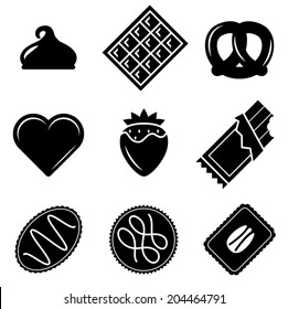 Vector Chocolate Icons