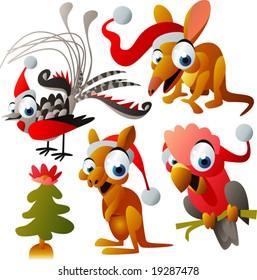 australian christmas images clip art