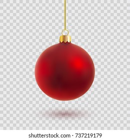 vector christmas ball