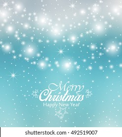 Vector Christmas colorful background, Merry Christmas card
