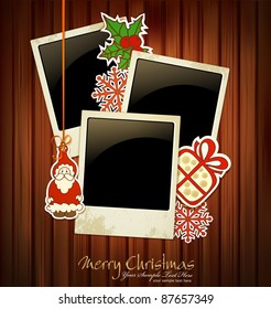 Vector Christmas holiday background