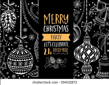 Christmas Party Invitation Images Stock Photos Vectors Shutterstock