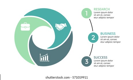 imagens fotos e vetores stock shutterstock vector circle arrows infographic cycle diagram graph presentation chart business concept with ccuart Image collections