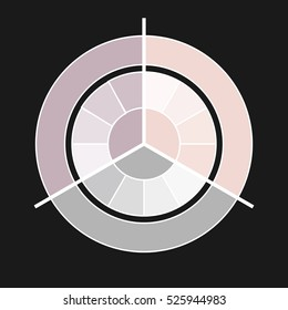 Vector circle business concepts.