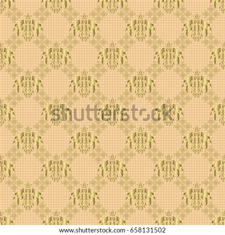 vector circle golden grid elements on stock vector royalty free