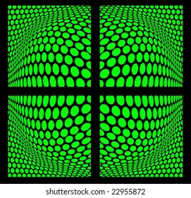 vector circles texture