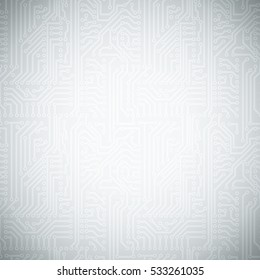 Vector circuit board pattern background.