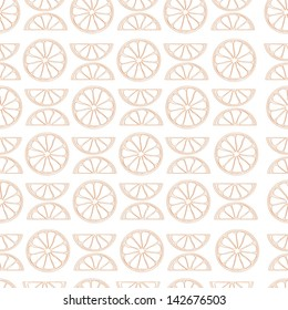 vector citrus seamless pattern
